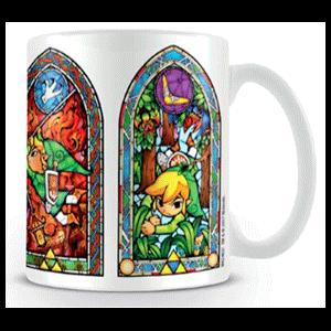 Taza Zelda: Vitrinas 320ml