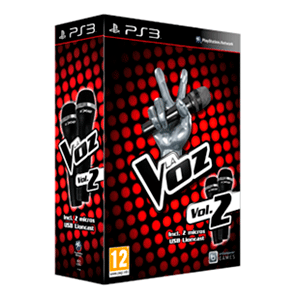 La Voz Vol. 2 + 2 Microfonos