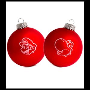 Bolas de Navidad Mario