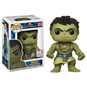 Figura Pop Thor Ragnarok: Casual Hulk NYCC 2017 Ed. Limitada