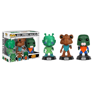 Pack de 3 Figuras Pop Star Wars: Greedo, Hammerhead y Walrus Ed. Limitada