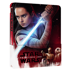 Star Wars: Los Ultimos Jedi 3D + 2D Steelbook
