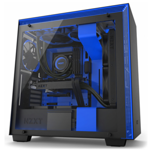 NZXT H700i Negra/Azul