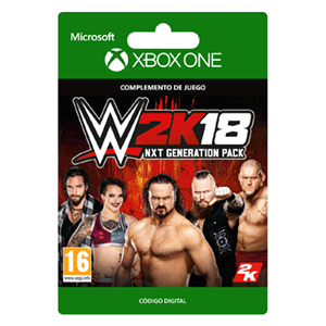 WWE 2K18 NXT Generation Pack XONE