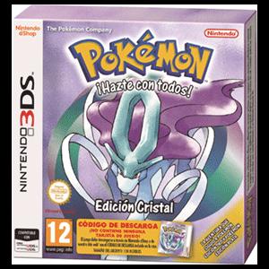 Pokemon Cristal - Código Descarga + Caja