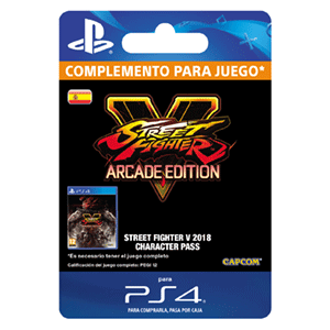 Street Fighter V Season 3 Character Pass PS4