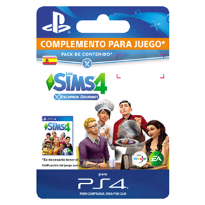The Sims 4 Escapada Gourmet PS4