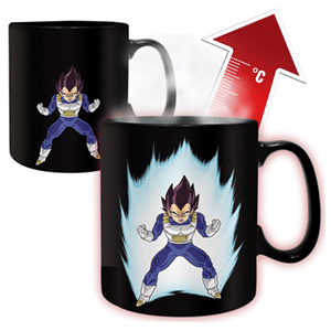 Taza Dragon Ball Termosensible Vegeta