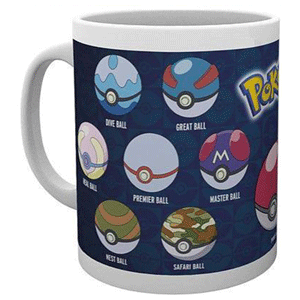 Taza Pokemon: Pokeballs