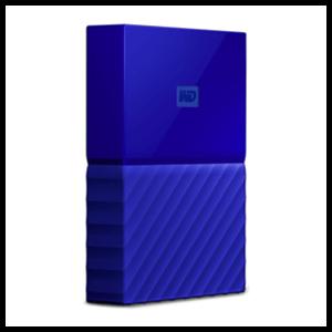 Western Digital My Passport 4TB Azul USB 3.0 - Reacondicionado