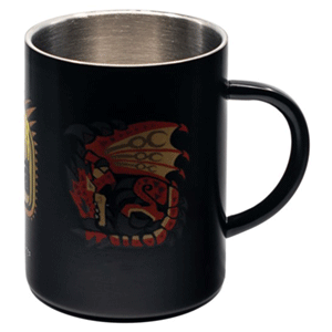 Taza Metálica Monster Hunter World: Monsters