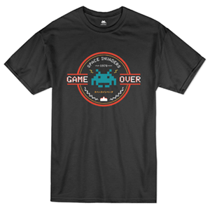 Space Invaders Game Over T-Shirt L
