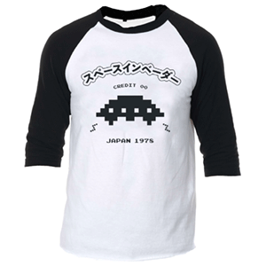Space Invaders UFO Raglan M