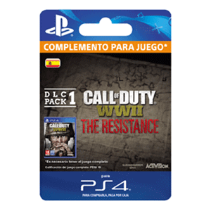 Call of Duty WWII - The Resistance: DLC Pack 1 PS4