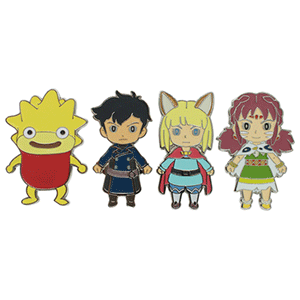 Set de Imanes Ni No Kuni 2