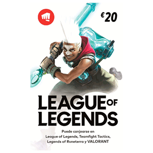 Pin League of Legends 20 Euros