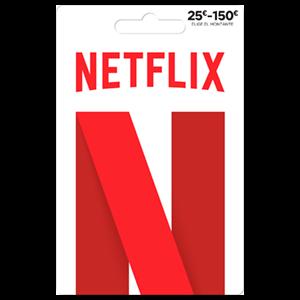 Pin Netflix 50 Euros