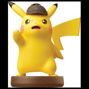 Figura amiibo Detective Pikachu