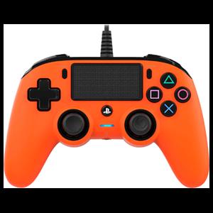 Mando Nacon Con Cable Naranja - Licencia Oficial Sony