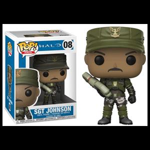 Figura Pop Halo: Sgt. Johnson