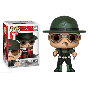 Figura Pop WWE: Sgt. Slaughter
