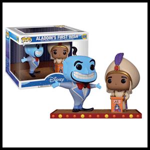 Figura Pop Disney: Genio y Aladdin Primer Deseo