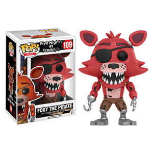 Figura  Pop FNAF: Foxy Pirate