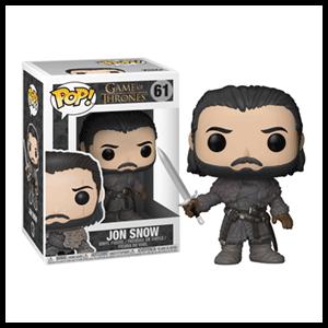 Figura Pop Juego de Tronos: Jon Snow Más Allá del Muro
