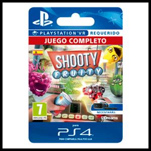Shooty Fruity VR PS4