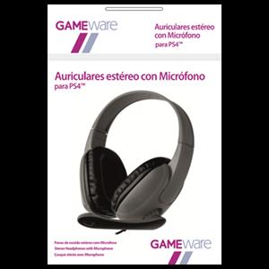 Auriculares Grises Estéreo con Micrófono GAMEware
