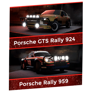 DLC Rally Porsche Pack - Gravel XONE