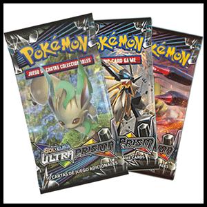 Sobre 10 Cartas Pokemon Sol y Luna: Ultra Prisma
