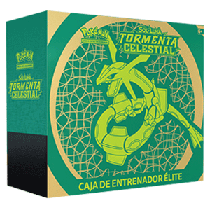 Elite Trainer Box Pokemon Sol y Luna: Tormenta Celestial