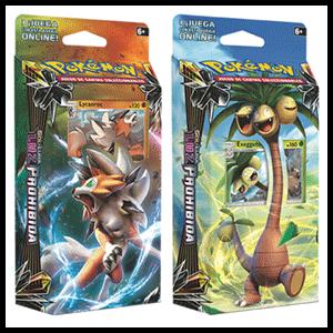 Baraja 60 Cartas Pokemon Sol y Luna: Luz Prohibida