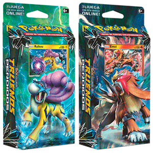 Baraja 60 Cartas Pokemon Sol y Luna: Truenos Perdidos