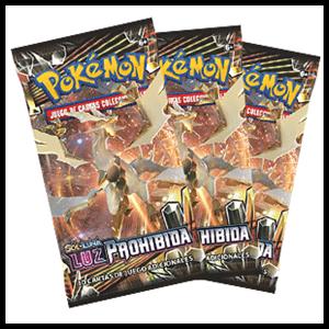 Sobre 10 Cartas Pokemon Sol y Luna: Luz Prohibida