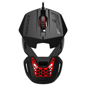 Mad Catz RAT1 Negro-Rojo - Reacondicionado