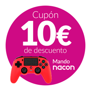 10 Dto. Mando Nacon Con Cable PS4