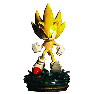 Estatua Sonic Regular Modern Super Sonic