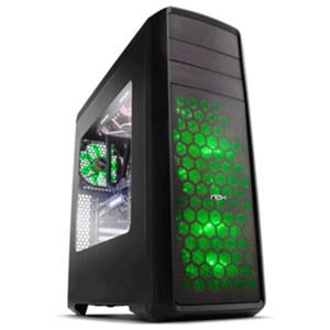 Nox Coolbay ZX LED Verde - Ventana