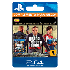 GTA Online: Criminal Enterprise Starter Pack PS4