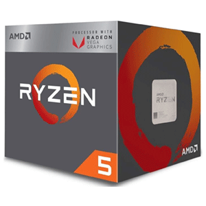 AMD Ryzen 5 2400G 3.6Ghz 4-Core AM4
