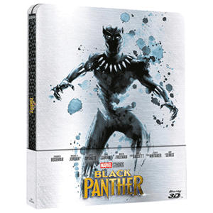 Black Panther 3D + 2D Steelbook