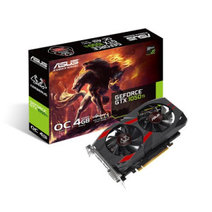 Asus GeForce 1050 Ti OC Cerberus 4GB