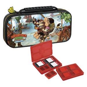 Game Traveller Deluxe Travel Case NNS52 Donkey Kong -Licencia oficial-