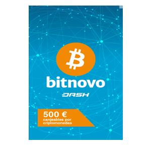 Pin Bitnovo 500 Euros