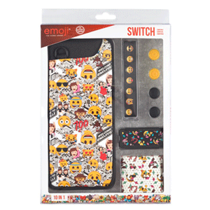Kit 10 Accesorios Nintendo Switch Emoji 2018