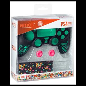 Kit 5 Accesorios mando PS4 Emoji 2018
