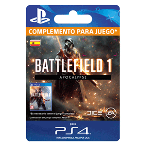 Battlefield 1 - Apocalypse PS4