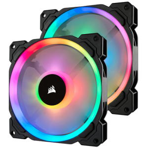 Corsair LL140 RGB Doble Pack